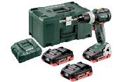 BS 18 LT BL SET PERCEUSE-VISSEUSE SANS FIL METABO